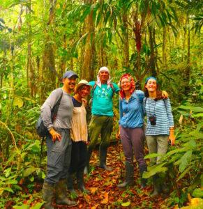 volunteer jungle workers